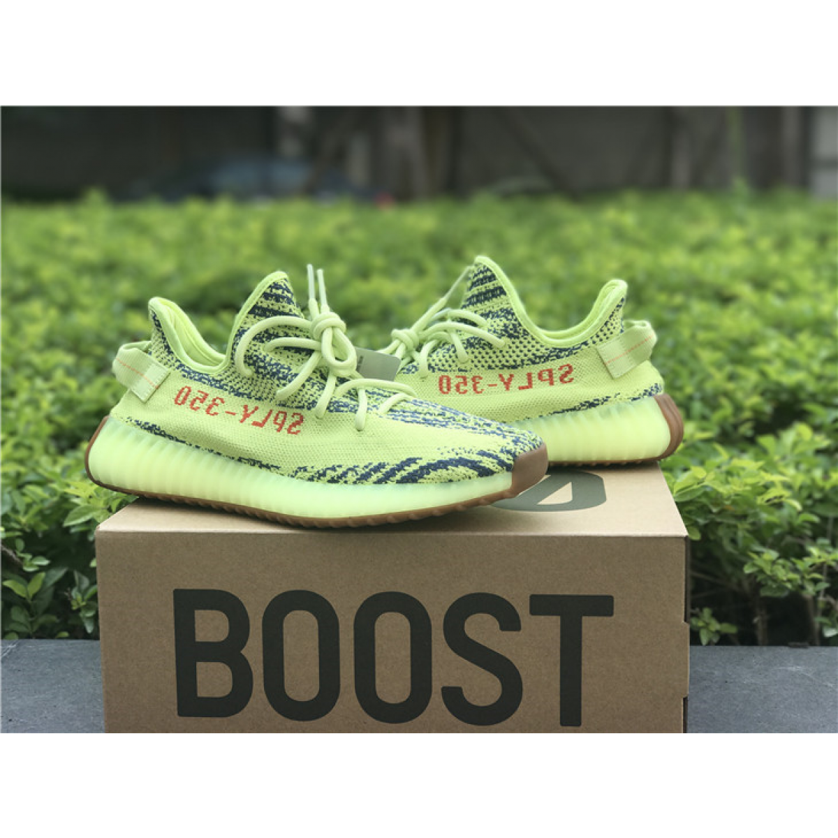 Adidas Yeezy Boost 350 V2 Semi Frozen Yellow Shoes 08c9199a7