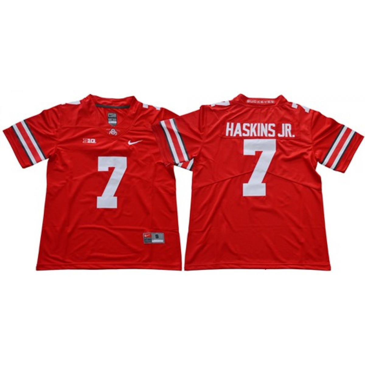big sale f59c8 f3891 NCAA Buckeyes 7 Dwayne Haskins Jr Red Limited Men Jersey