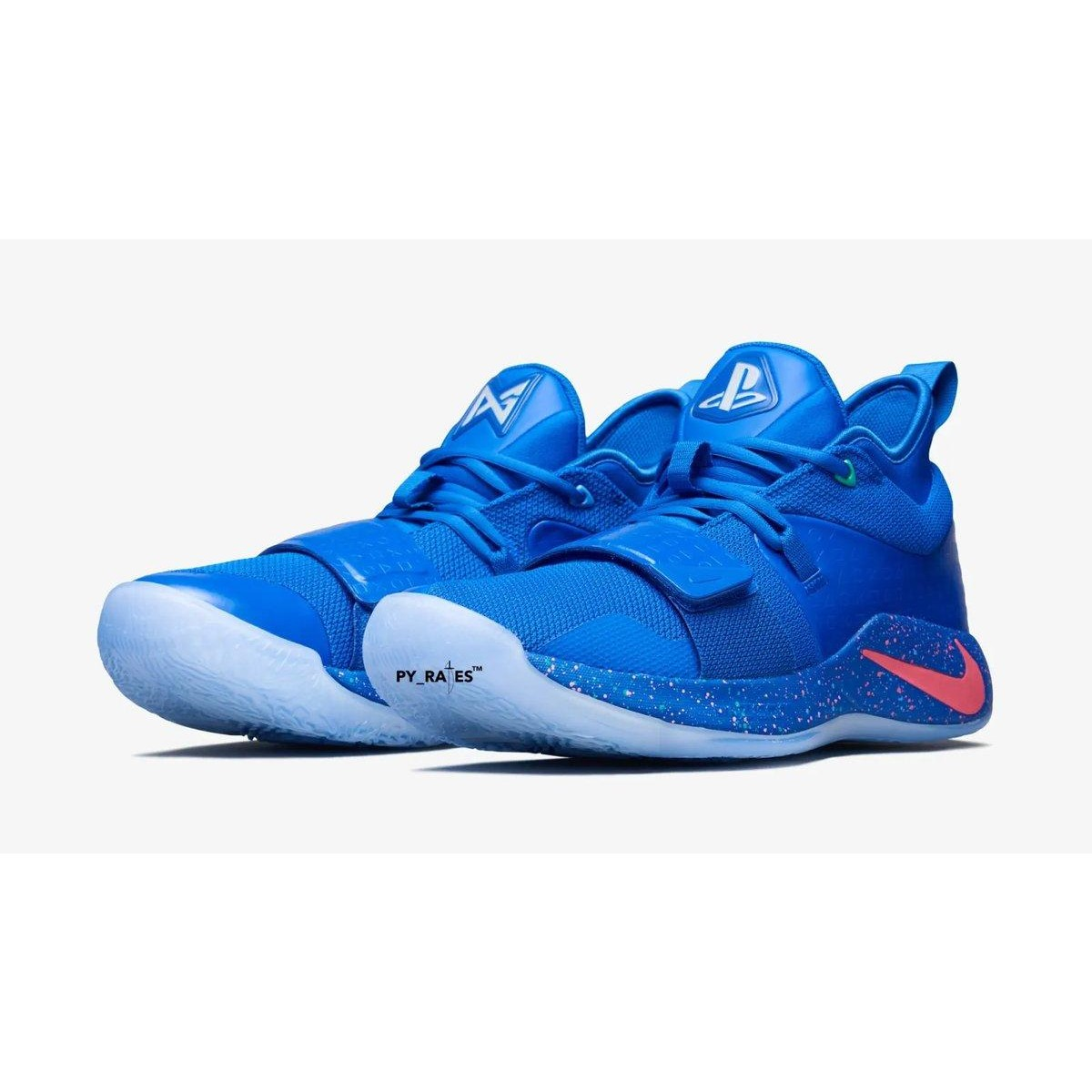 promo code fcd18 186df Nike PG 2.5 PlayStation Blue Shoes