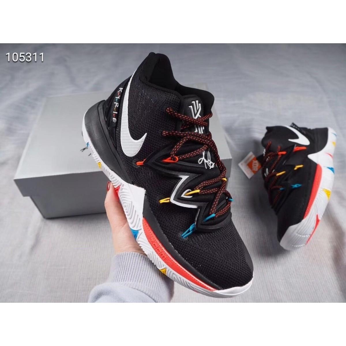 "48d6db55 Nike Kyrie 5 ""Friends"" Black Shoes"