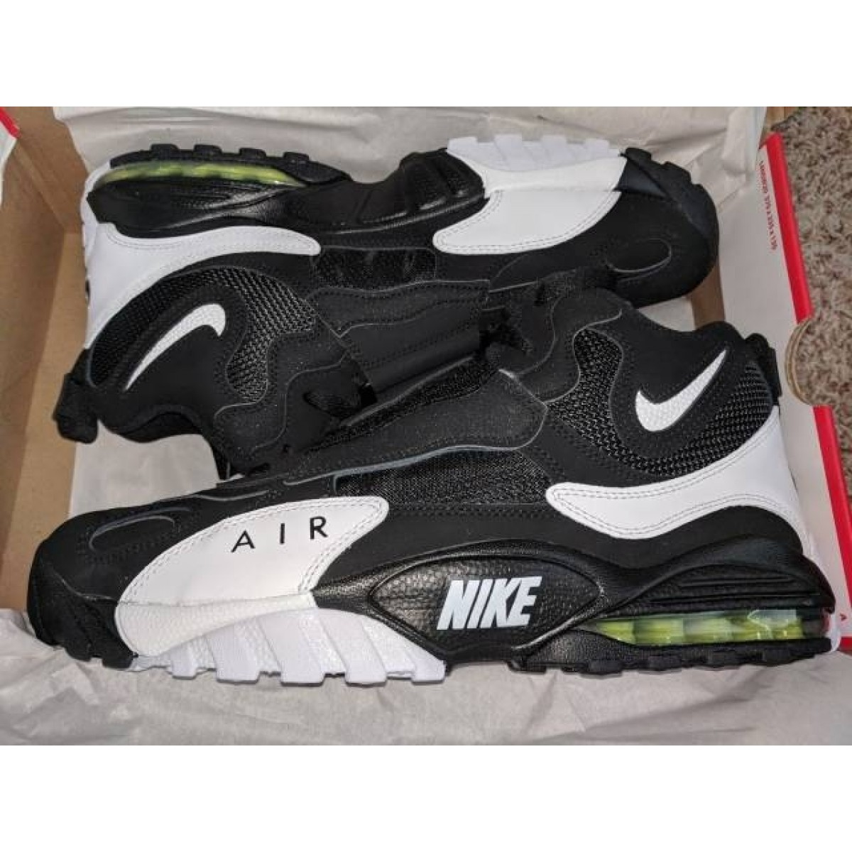 new style c4721 3a423 Nike Air Max Speed Turf White/Black/Voltage Yellow 49ers Shoes