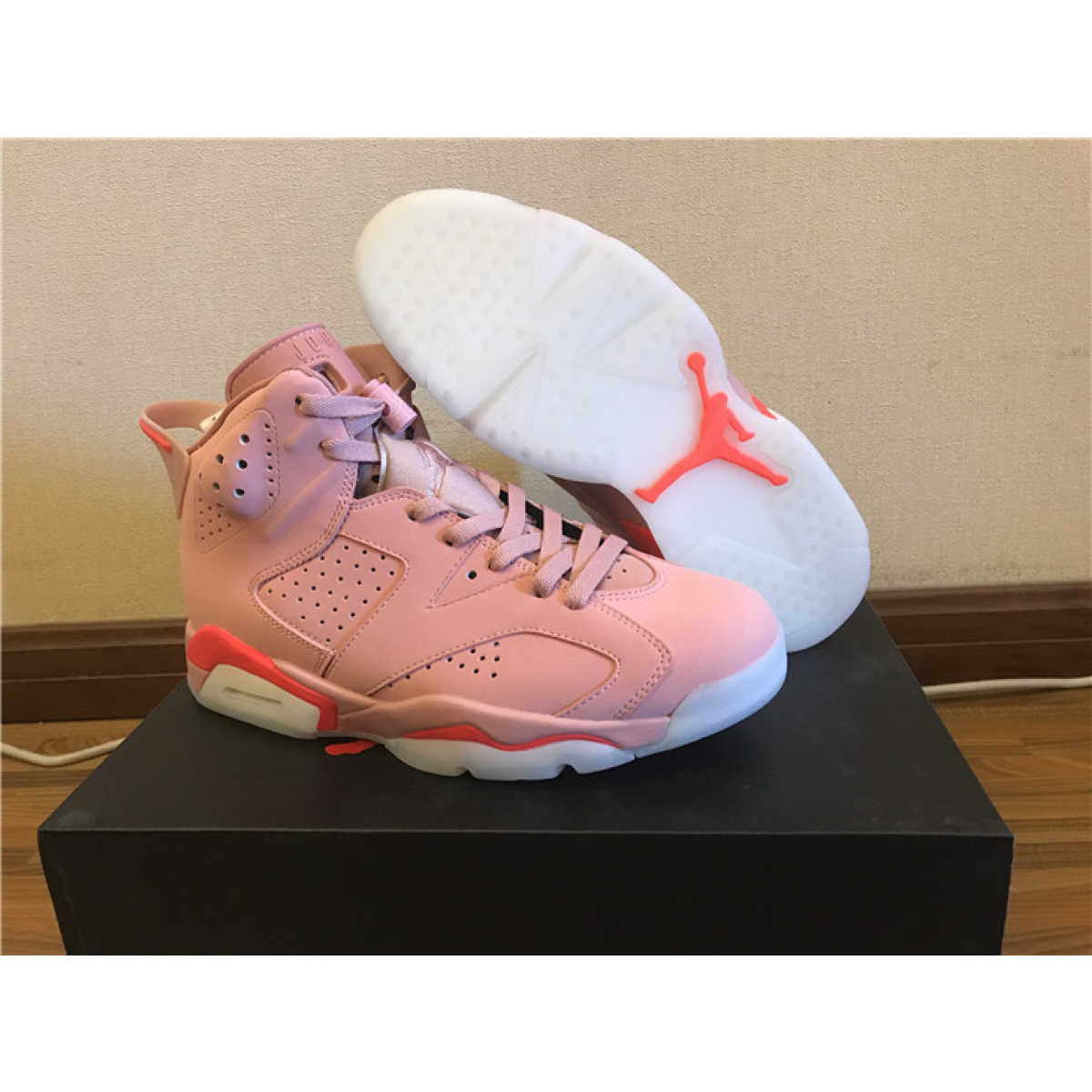 "innovative design e8640 374ad Air Jordan 6 (VI) ""Millennial Pink"" Shoes"