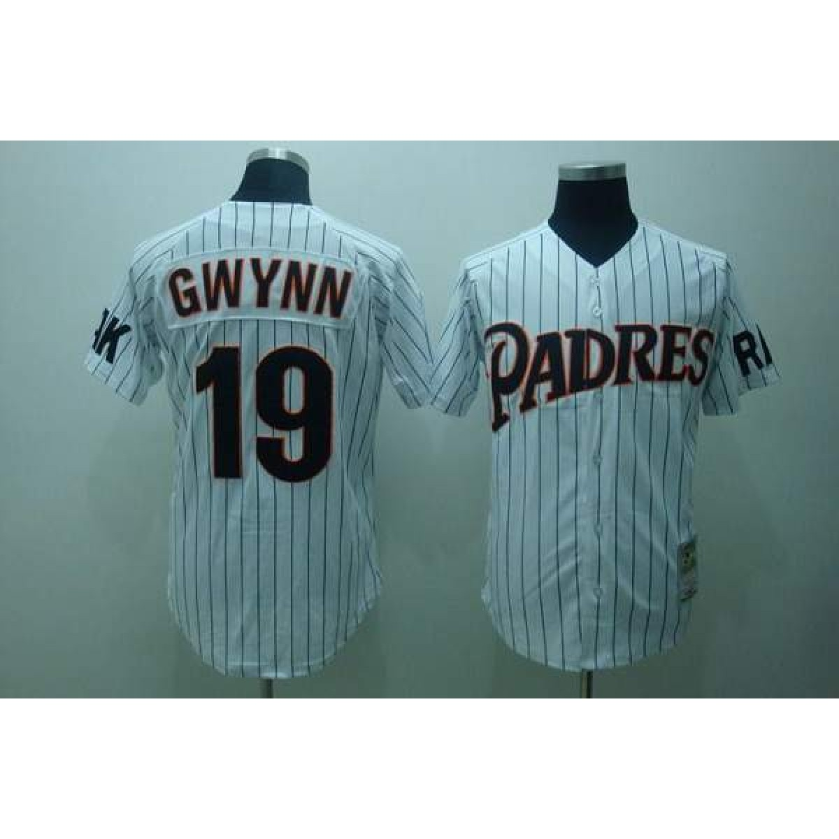 sports shoes 716c2 51f0d MLB Padres 19 Tony Gwynn Throwback Mitchell And Ness Men Jersey