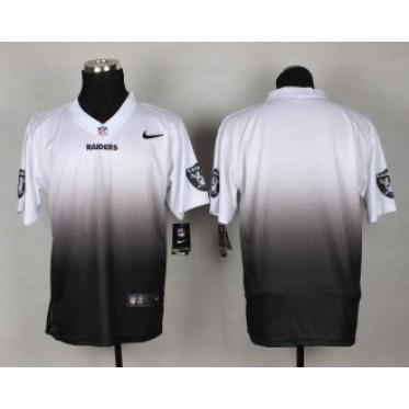 bff20add79f NFL Oakland Raiders Fadeaway Men Nike Elite Customized Jersey