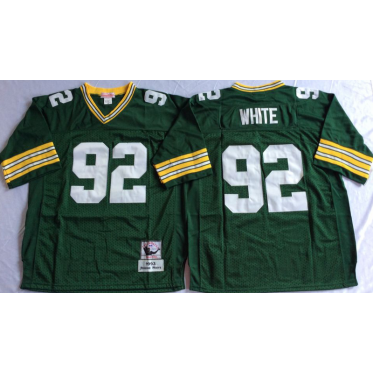 brand new 9b031 1ede2 Mitchell and Ness NFL Packers 92 Reggie White Green Throwback Jersey
