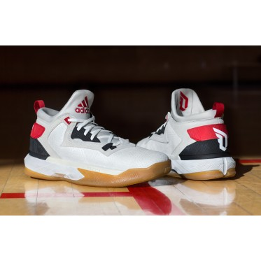 Adidas D Lillard 2 Rip City Damian Home Basketball White Shoes