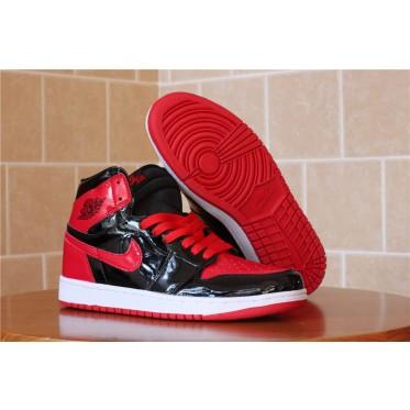 75e4478c0f6a1c Air Jordan 1 Retro Black Red Shoes