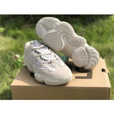 Adidas Yeezy 500 Desert Rat Gray White Shoes
