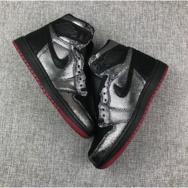 "Air Jordan 1 Retro High OG ""BLack Toe"" Black Shoes"