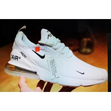Nike Air Max 270 White Off White Shoes