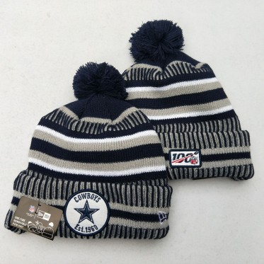 NFL Dallas Cowboys 100th Knit Hat