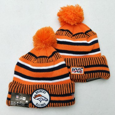 NFL Denver Broncos 100th Knit Hat
