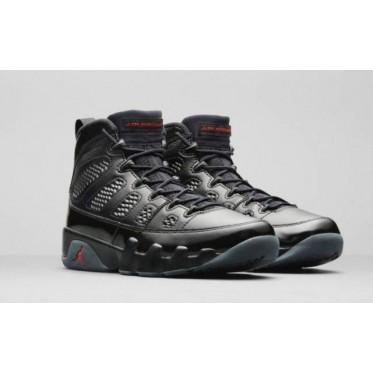 Air Jordan 9 Bred Black Shoes