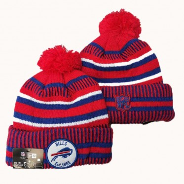 NFL Buffalo Bills New Era 2019 Sideline Road Reverse Sport Knit Hats 009