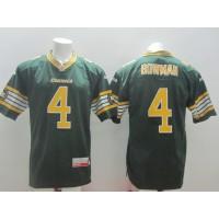 Edmonton Eskimos No.4 Adarius Bowman Green Male Football Jersey