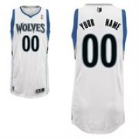 Minnesota Timberwolves White Custom Basketball Jersey