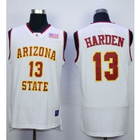 NCAA Arizona State Sun Devils 13 James Harden White Basketball Men Jersey
