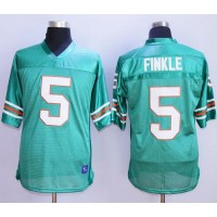 Ace Ventura Pet Detective 5 Ray Finkle Teal Green Stitched Football Movie Jersey