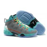 Air Jordan 28 SE Men Basketball Mens Shoes Grey Blue