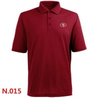 Nike San Francisco 49ers 2014 Players Performance Polo Red
