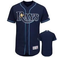 MLB Rays Blank Navy Flexbase Men Jersey