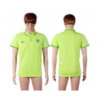 Soccer Club Manchester City Blank Green Polo T-shirt