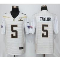Nike Bills 5 Tyrod Taylor White 2016 Pro Bowl Team Rice Mens Stitched NFL Elite Jersey