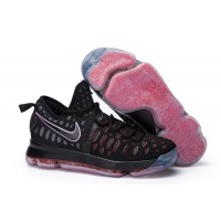 Nike KD 9 Basketball knit Shoes Black Red