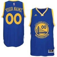 Golden State Warriors Royal Custom Swingman Mens Jersey