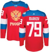Hockey Team Russia 79 Anton Belov 2016 World Cup Of Red Men Jersey