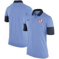 Nike St. Louis Cardinals Men's Light Blue Polo