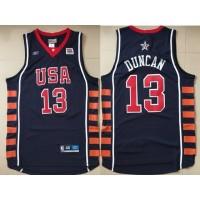 Basketball Team USA 13 Kevin Durant Navy Team VI Men Jersey