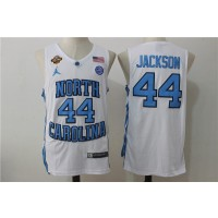 NCAA North Carolina Tar Heels 44 Justin Jackson White College Basketball Men Jersey