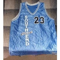 South End Blue Basketball Customize Men Jerseys