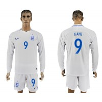 Soccer England 9 KANE Goalkeeper Home 2018 FIFA World Cup Long Sleeve Men Jersey