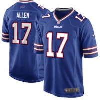 NFL Buffalo Bills 17 Josh Allen Nike Royal 2018 NFL Draft Elite Youth Jersey