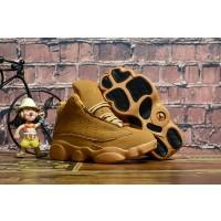 Air Jordan 13 Wheat Black Kids Shoes
