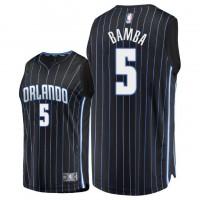 NBA Magic 5 Mohamed Bamba Black 2018 NBA Draft Nike Men Jersey