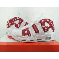 "Nike Air More Uptempo ""Suptempo"" Red White Shoes"