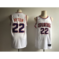 NBA Suns 22 Deandre Ayton White 2018 NBA Draft Nike Men Jersey