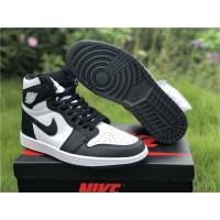 Air Jordan 1 Retro High Black White Shoes