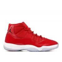 """Air Jordan 11 Retro """"Win Like '96"""" Red Shoes"""