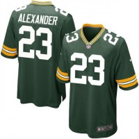 Nike Green Bay Packers 23 Jaire Alexander Team Color Youth Jersey