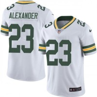 NFL Packers 23 Jaire Alexander Nike White Vapor Untouchable Limited Youth Jersey