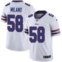 Nike Bills 58 Matt Milano White Vapor Untouchable Limited Men Jersey