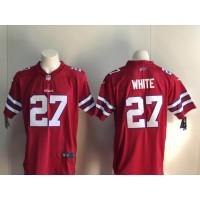 Nike Bills 27 Tre'Davious White Red Vapor Untouchable Limited Men Jersey