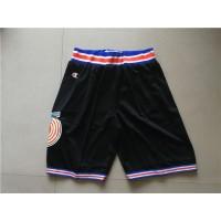 NBA Tune Squad Black Champion Shorts