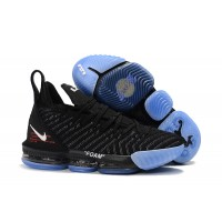 Off-White x Nike LeBron 16 Black Ice Shoes