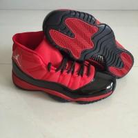 Air Jordan 11 Retro Red Black High Shoes