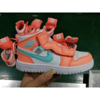 Air Jordan 1 Orange Kids Shoes